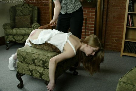 Corporal punishment from mom