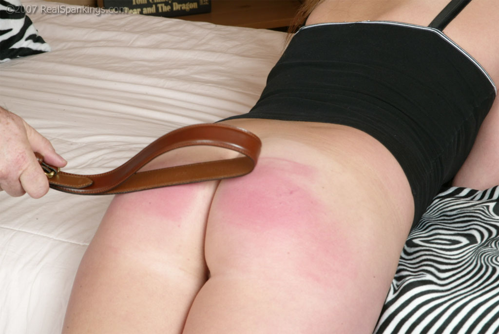 Black girl getting spanked with a belt nude