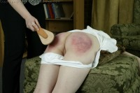 teen spanked by mom