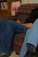 teen girl corporal punishment