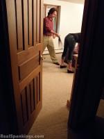 dad corporal punishment teen daughter