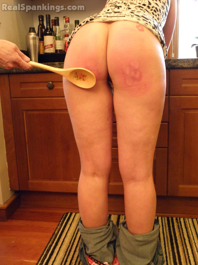 spank with spoon
