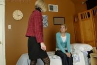 mom spanks daughter otk