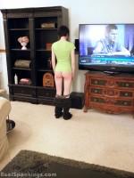 girl cornertime after spanking