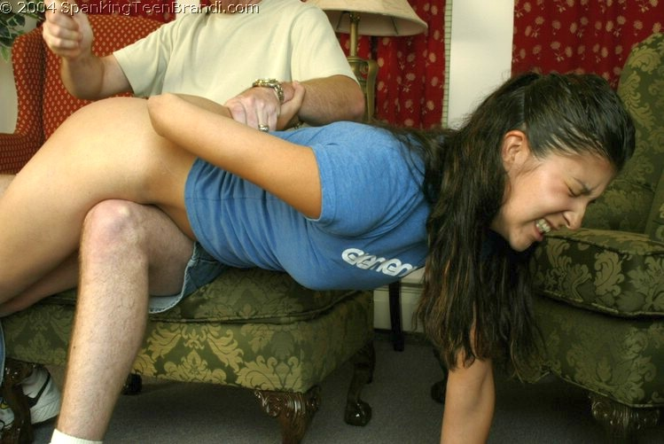 Guy  hairbrush spank video clips