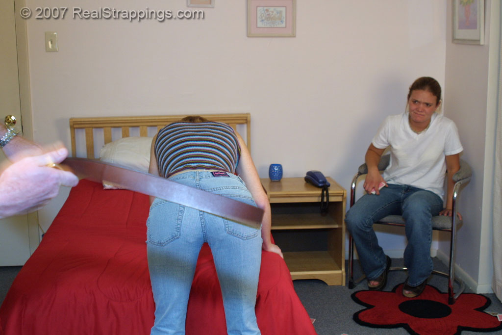 Teen real jessica spankings