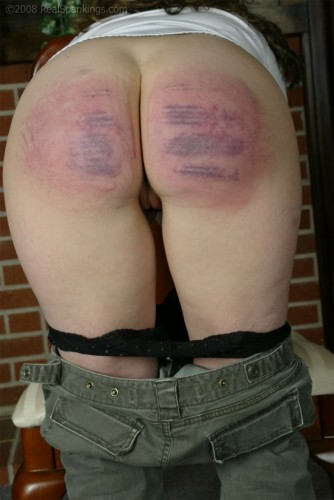 caning of daughter