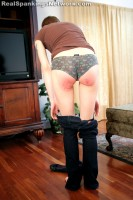 teen girl paddled by dad for her short shorts 10