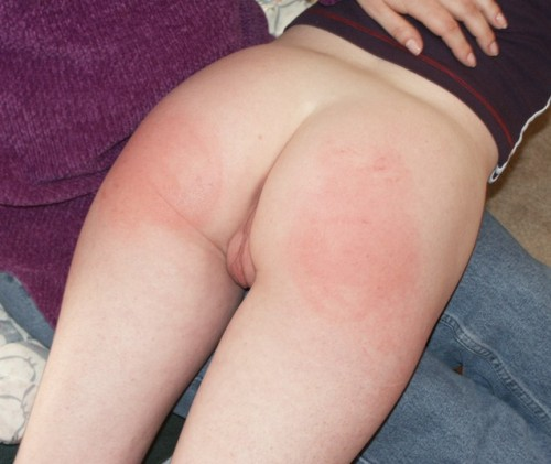 spanked before school